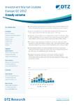DTZ: Wartość transakcji na europejskim rynku nieruchomości komercyjnych w III kw. bieżącego roku osiągnęła poziom 24,6 miliarda euro