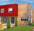 Projekty domów z płaskim dachem - wielki powrót ?kostki?