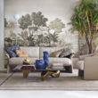 Misha Wallpaper - ręcznie malowane jedwabne tapety